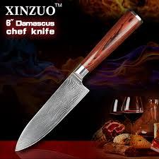 popular new 6 japanese chef knife damascus steel buy cheap new 6