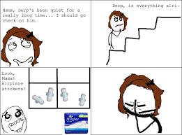 Meme Comic Tumblr - le airplane stickers le rage comics