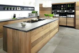 cuisine moderne noir et blanc cuisine bois moderne deco cuisine bois et blanc id es de d coration