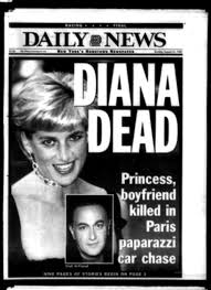 princess diana u0027s death a look back at headlines that shook the