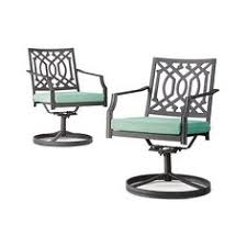 Motion Patio Chairs Hamlake 4 Piece Wrought Iron Patio Motion Dining Chair Set