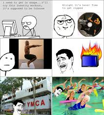 Insanity Workout Meme - new workout routine rebrn com