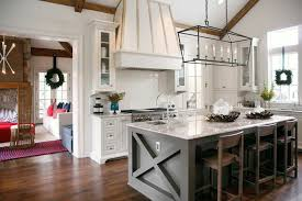 white and taupe lower kitchen cabinets integrate taupe paint into your kitchen