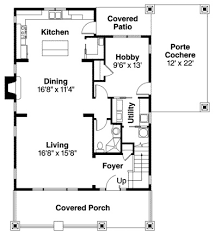 cottage bungalow house plans house plan 60911 at familyhomeplans com