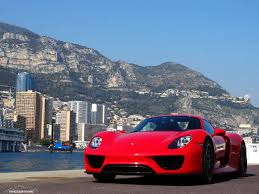 stunning red porsche 918 spyder photoshoot in monaco gtspirit
