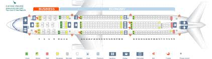A330 300 Seat Map Seat Map Airbus A330 300 Cathay Pacific Best Seats In The Plane