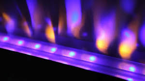 azure 42 electric fireplace by napoleon youtube