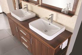 double bowl sink vanity excellent art kallista 77 inches modern double vessel sink bathroom