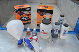 Bed Liner Spray Gun Al U0027s Liner Protective Coating