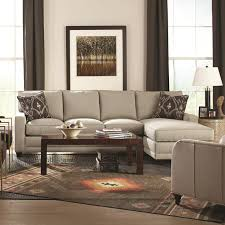 Modern Sectional Sofa With Chaise My Style Contemporary Sectional Sofa With Chaise By Rowe Living
