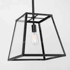 Black Iron Pendant Light Lights Glass And Black Fixture Metal Material Regarding Pendant