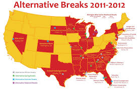 Central Michigan University Map by Central Michigan University U0027s Alternative Breaks Program Ranked