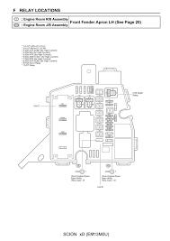 wiring diagram toyota scion xd electrical wiring diagraml 2008
