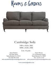 Sofa Company Santa Monica Sofas U2014 Rooms U0026 Gardens