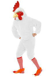 halloween costumes xxxl white rooster costume