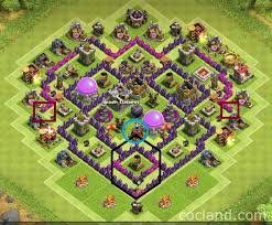 layout coc town hall level 7 the mantis best base layout for town hall 7 clash of clans