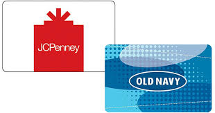 discounted gift card 50 jcpenney or navy egift card only 40 more gift
