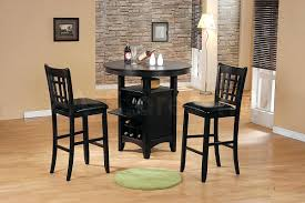 Target Bar Table by Applara Bar Table And 2 Stools Brown Stained Halla Black Ikeabar