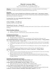 Sample Resume For Special Education Teacher by Health And Physical Education Resume Physical Education Teacher
