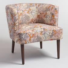 Upholstered Accent Chair Botanical Evelynn Upholstered Accent Chair World Market