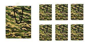 present bags camouflage gift bag in bulk camo wedding birthday party christmas