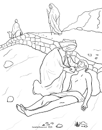 the good samaritan coloring page itgod me