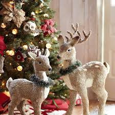 Pier One Christmas Ornaments - pier one deer decor i bought the large deer with the 2 smaller