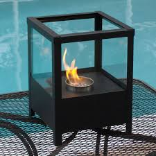 Portable Indoor Outdoor Fireplace by Nu Flame Sparo Indoor Outdoor Ethanol Party Lantern Fireplace