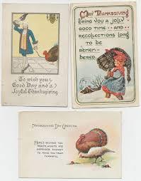 vintage thanksgiving postcards forgotten bookmarks november 2013