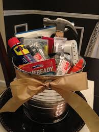 house warming gift idea u2013 a his and hers basket with necessities
