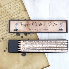 personalised quote gifts literary gifts for bookworms book pencils and novel quote cards