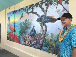 Mural Project by Patrick Ching 2016 Hilo Adventure U0027alala Mural Project Classes