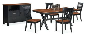 value city dining table set tell oak room tables river rectangle