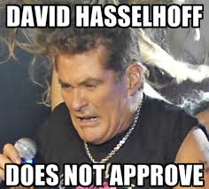 David Hasselhoff Meme - true survivor le retour fracassant david hasselhoff dans la musique