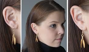 catherine zoraida earrings replikate review gold leaf earrings for the copper leaf season