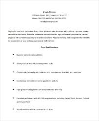 Tally Resume Sample by Administrative Assistant Resume 14 Free Word Pdf Psd