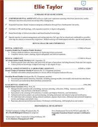 Resume Examples Dental Assistant by 2016 Resume Examples Business Proposal Templated Business