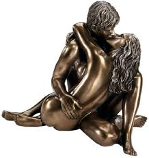 Statues For Home Decor by Amazon Com Enraptured In Love Lovers Romantic Bronze