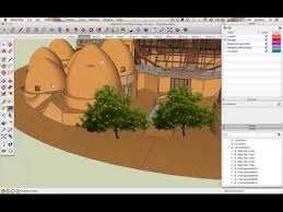 sketchup plants trees and shrubs archive one community