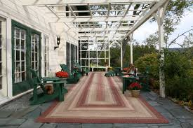 Ballard Outdoor Rugs Decor U0026 Tips Pergola And Adirondack Chairs With Indoor Outdoor
