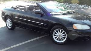 chrysler sebring bentley 2001 chrysler sebring photos specs news radka car s blog