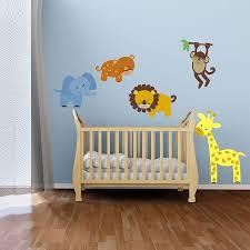 nursery animal wall stickers uk wall murals you u0027ll love