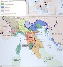 Italy France Map by Formation Of Italy