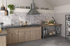 cuisine carreau ciment carreau ciment credence cuisine a tile backsplash of patchwork