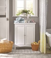 Bathroom Standing Cabinet Beachcrest Home Broadview Park 32 X 26 Free Standing Cabinet