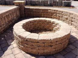 Stone Fire Pit Kit by Fire Pits Pembroke Stone Mart Hampton Roads Newport News