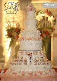 wedding cake pelangi 24 best 3 tiers wedding cake inspirations images on