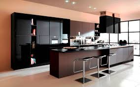 paint colors for kitchens with dark brown cabinets astounding modular island kitchen featuring dark brown color