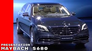 2018 mercedes s class maybach s680 presentation at shanghai youtube
