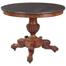 marble top pedestal table french napoleon iii marble top pedestal table 1870s ref 16133